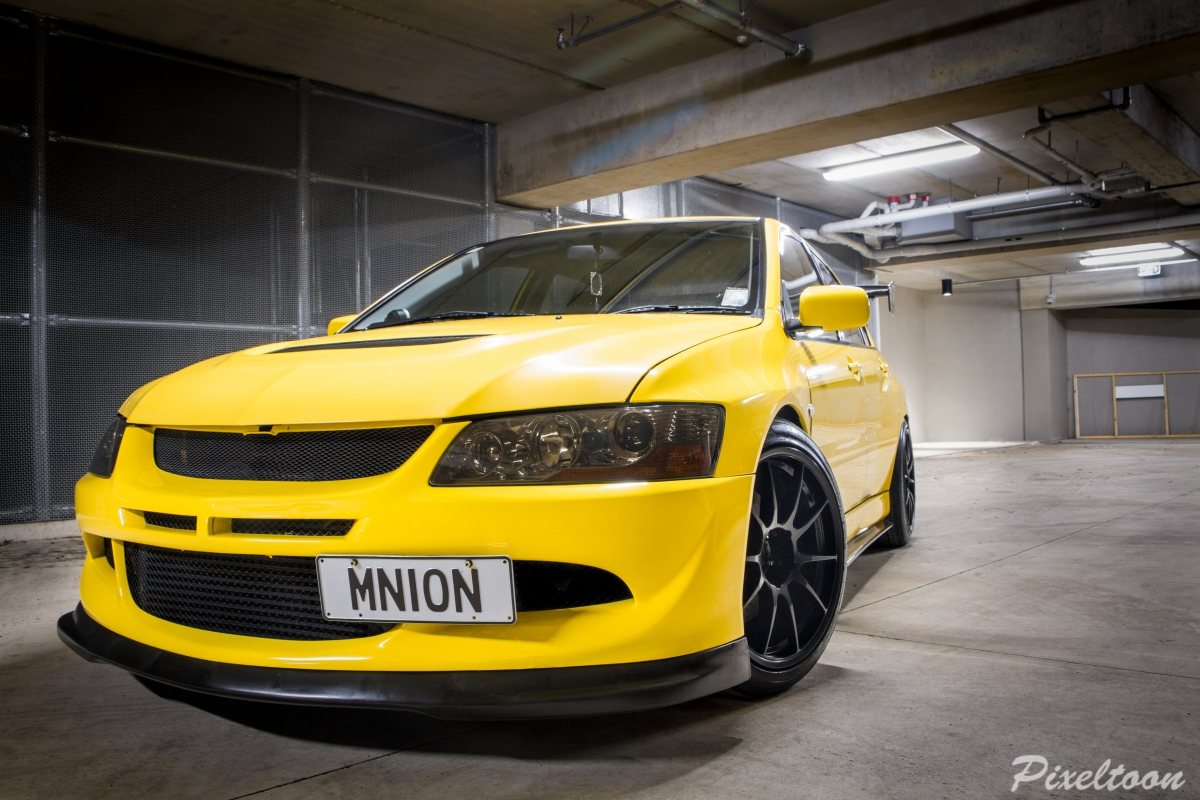 Evo 8 on Corn Diet